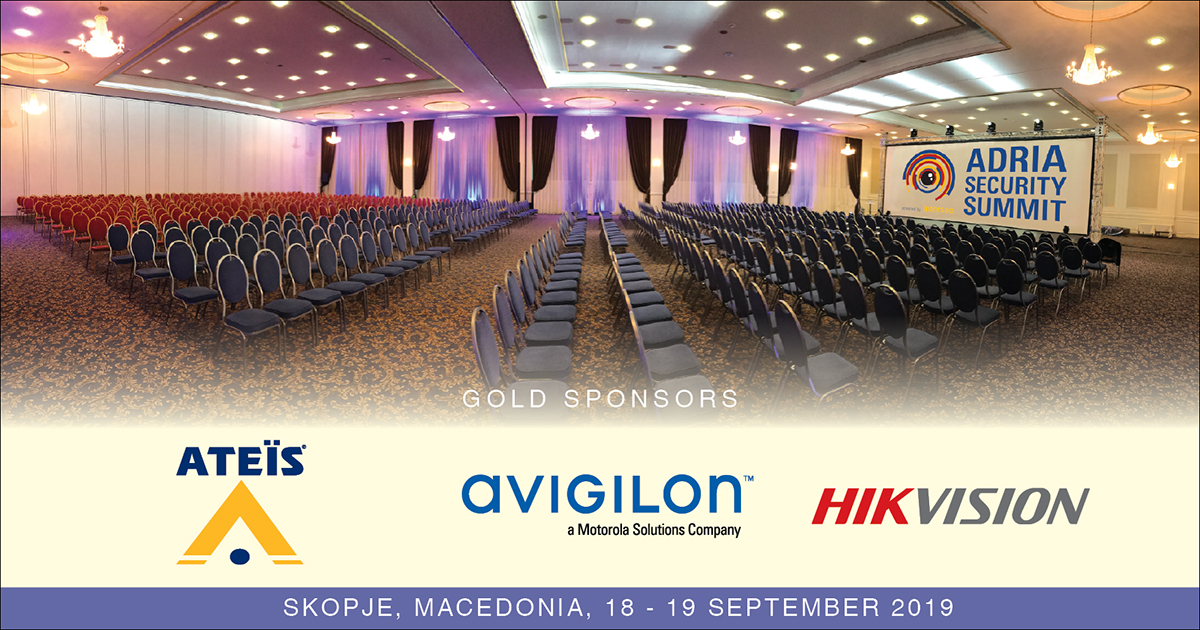 Gold Sponsors of Adria Security Summit 2019 Powered by Intersec